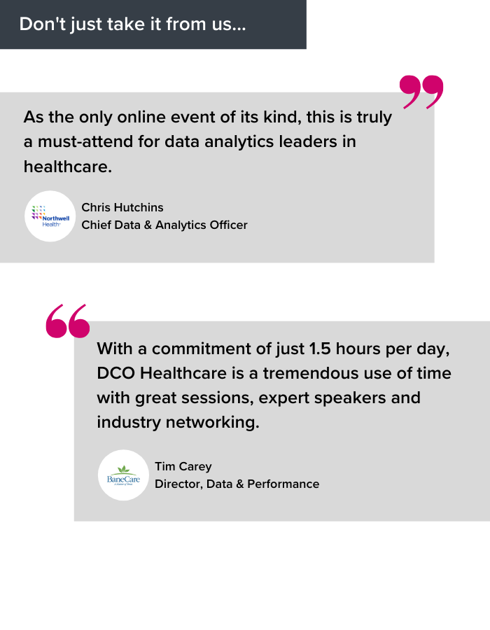 WHY ATTEND DCO HEALTH